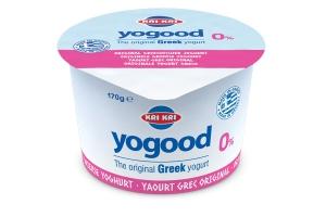 Yogood Yoghurt 0% Vet 170g