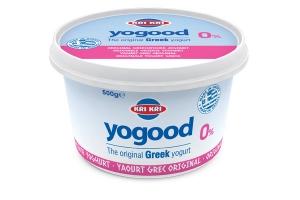 Yogood Yoghurt 0% Vet 500g